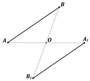 Centralnosimetrične duži